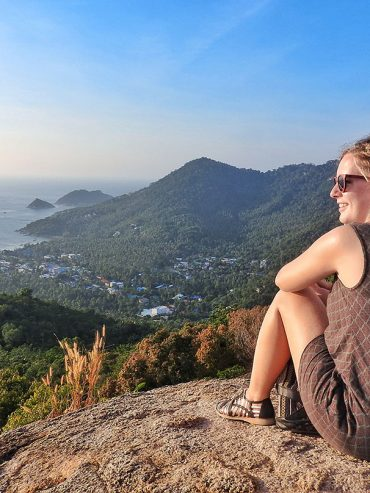 2017 travel highlights watching sunset koh tao thailand