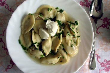 best Latvian food Pelmeni ravioli
