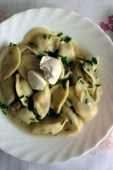 best Latvian food Pelmeni ravioli