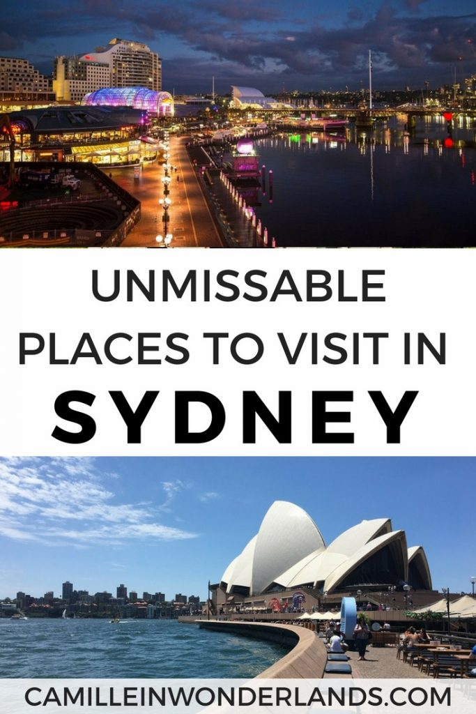 Unmissable places to visit in Sydney Pinterest pin
