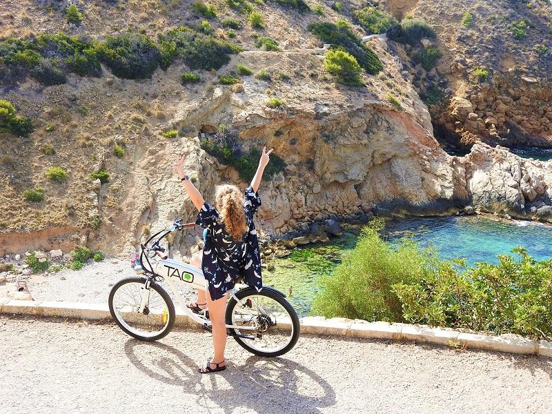 Benidorm things to do electric biking Sierra Helada