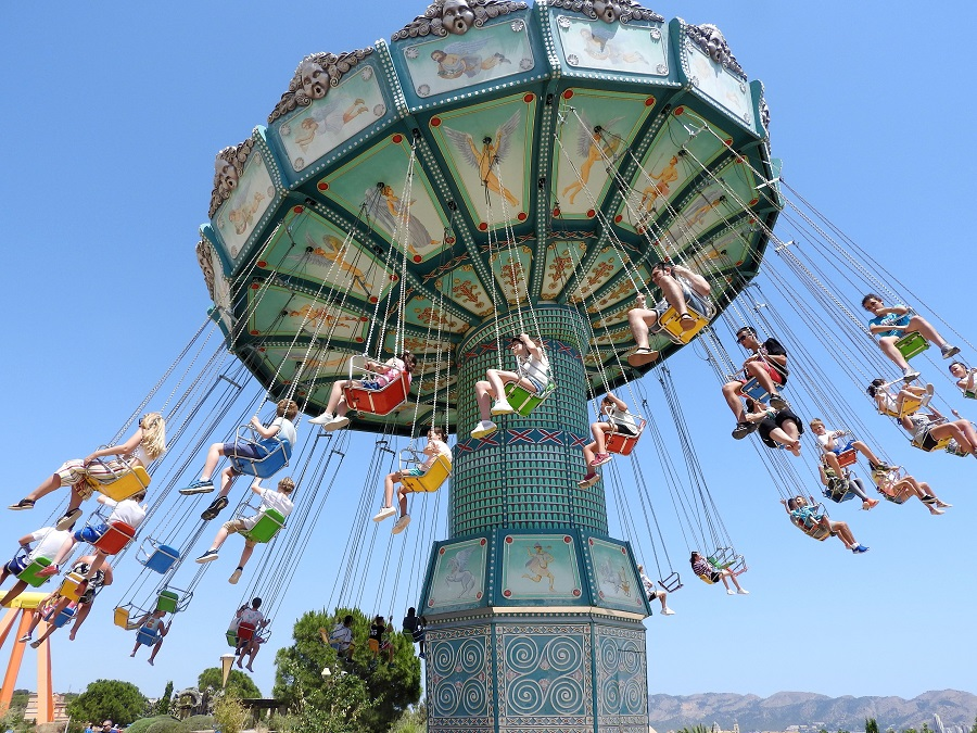 Top things to do in Benidorm Terra Mitica theme park