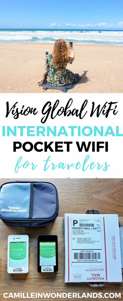 Vision Global WiFi pocket wifi rental Pinterest pin